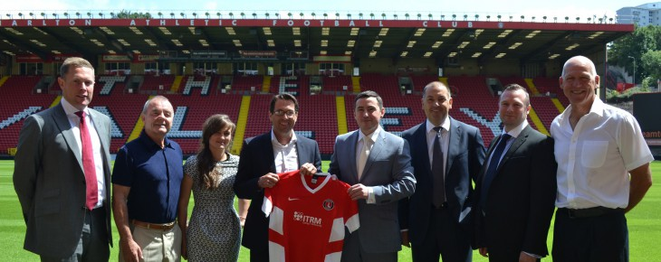ITRM Secures New Partnership with Charlton Athletic Football Club
