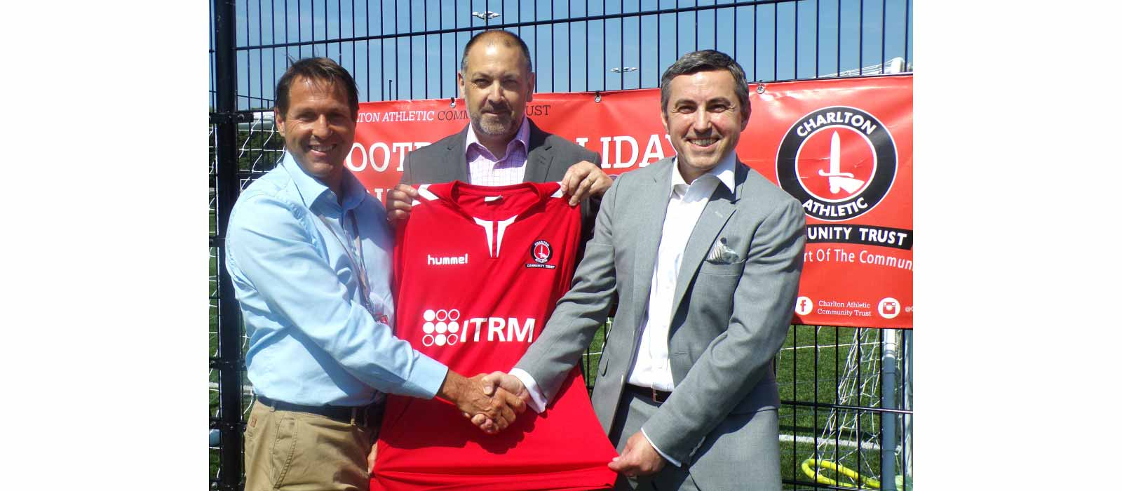 ITRM are the Back-of-Shirt Sponsor on Charlton Athletic's New Kit