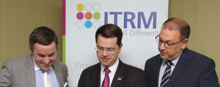 ITRM Visited by Sidcup MP, James Brokenshire